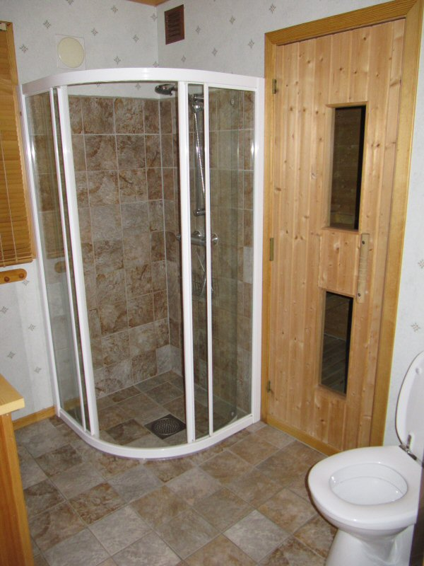 Hytte 1 Bath and Sauna